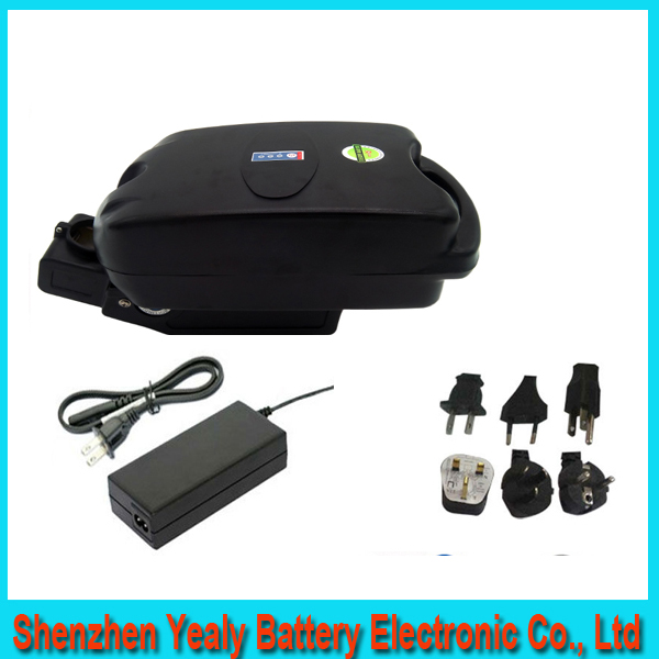Free customs duty ebike 500W lithium battery 36V 10AH F-rog Case bike electric bicycle lithium battery with BMS ,charger(China (Mainland))