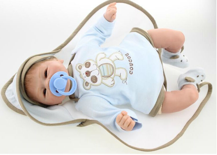 Free Shipping New Coming Newborn Baby-Reborn Doll Toys for Children,Lifelike Silicone Reborn Baby Dolls with Cloth Good Quality(China (Mainland))