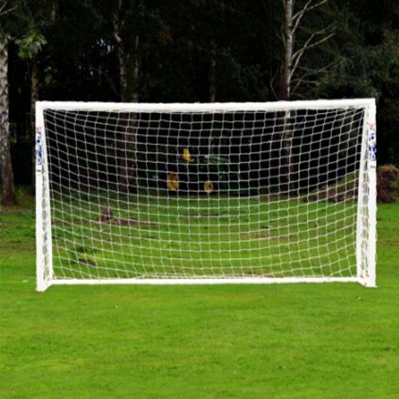 goal portable 12x6ft Full Size Football Soccer Goal Post Net Sports Match Training Junior soccer practice football goal net(China (Mainland))