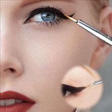 New Cosmetic Waterproof Eye Liner pencil make up black liquid Eyeliner Shadow Gel Makeup Eyeliner Cosmetic Brush Black