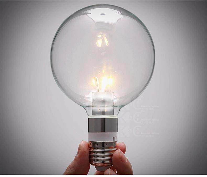 Светодиодная лампа , 3w E27 G95 chandeiler винтажная лампа эдисон radio spiral g95 32 нити