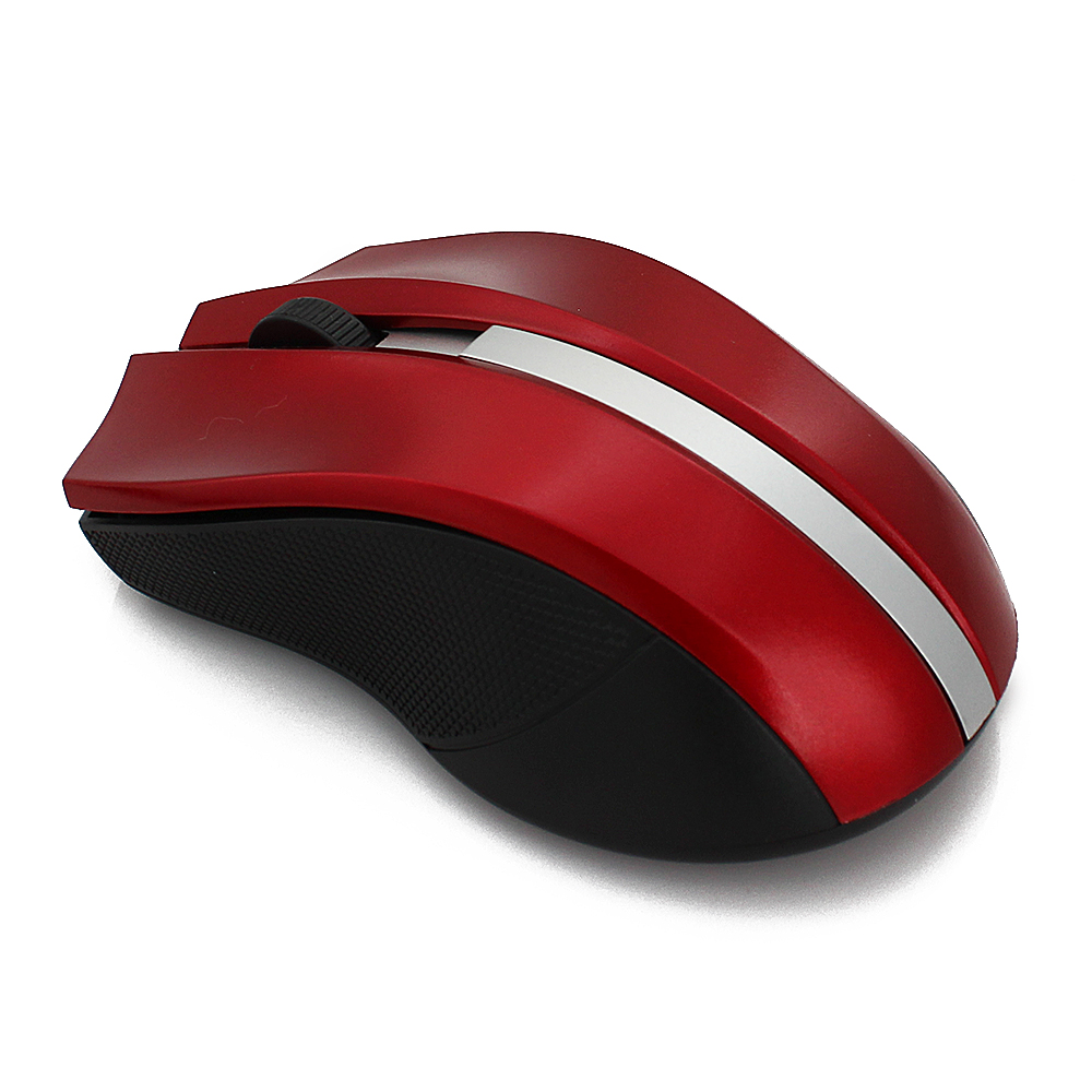 2.4GHz USB Optical Wireless Mouse+USB Receiver Mice Mause for Windows 2000/XP/Vista/Linux/Win 7/MAC Computer Accessoroes 3Color(China (Mainland))