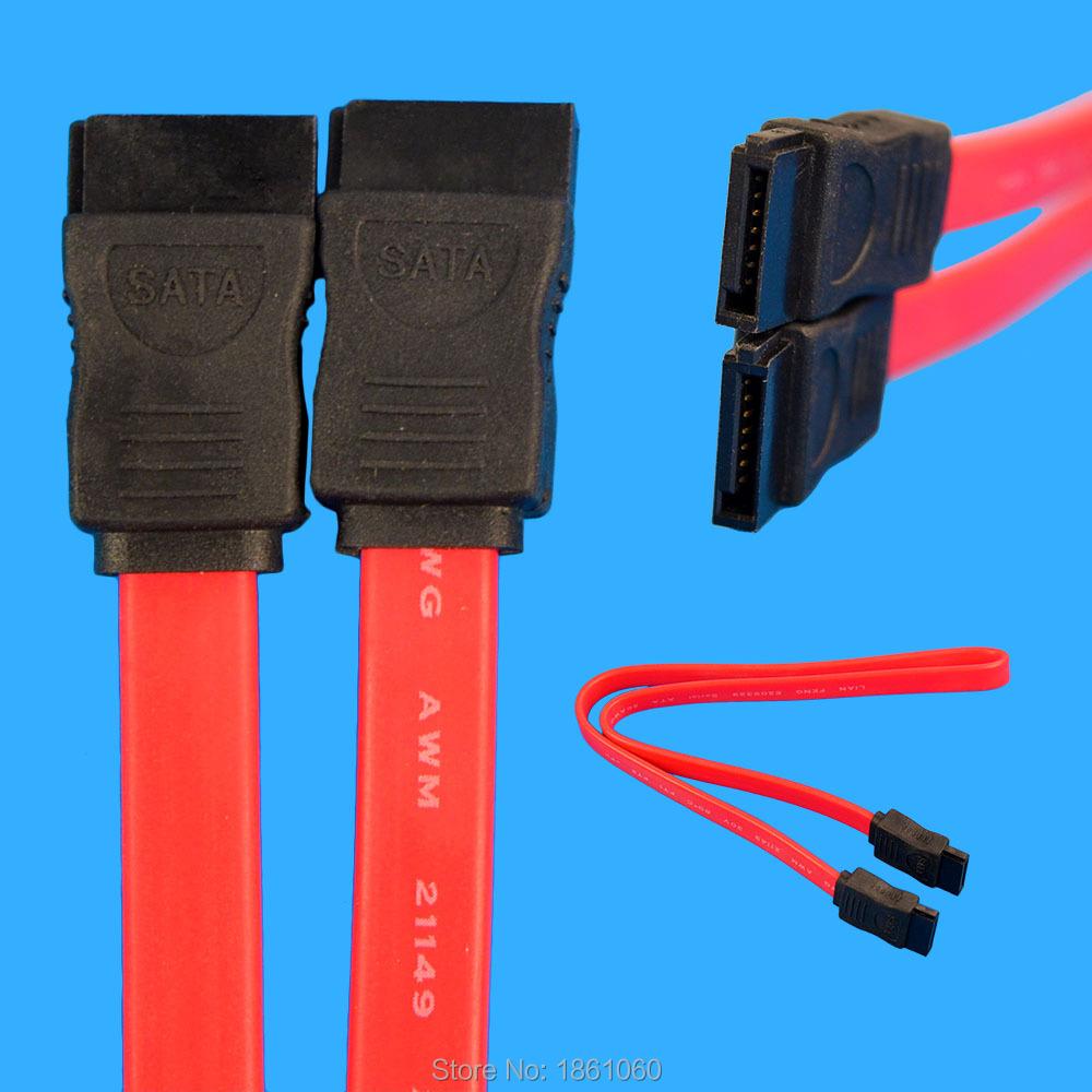 2016 New SATA serial hard drive DATA cable,SATA cable for desk computer PC,SATA cable 1pc Free shipping(China (Mainland))
