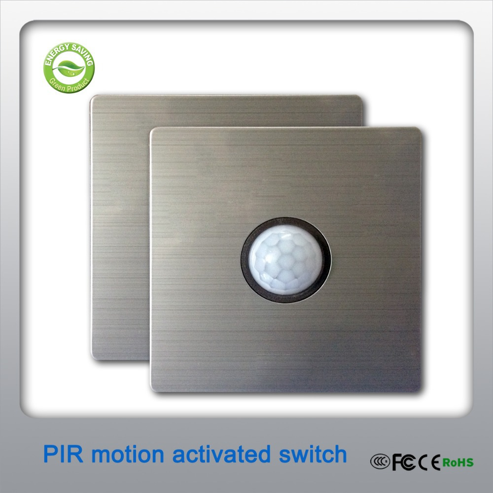 pir sensor light switch controller hostingrq com pir sensor light switch controller 80x 80mm 2 wire connection modern style pir motion