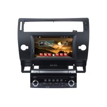 HD 1024X600 Android 4.4 Car DVD Stereo For Citroen C4 C-Triomphe C-Quatre 2004 2005 2006 2007 2008 2009 Auto Radio RDS GPS Navi(Hong Kong)