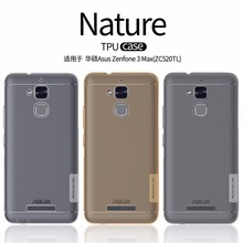 Asus Zenfone 3 Max ZC520TL case NILLKIN Nature clear TPU Transparent soft back cover case for Asus Zenfone 3 Max ZC520TL(China (Mainland))