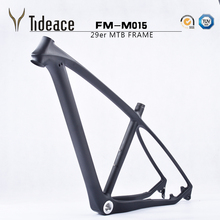 Light Updated 2016 T800 carbon mtb frame 29er with fork to match 29 full carbon mountain bike frame 17.5 19inch 31.6mm seatpost(China (Mainland))