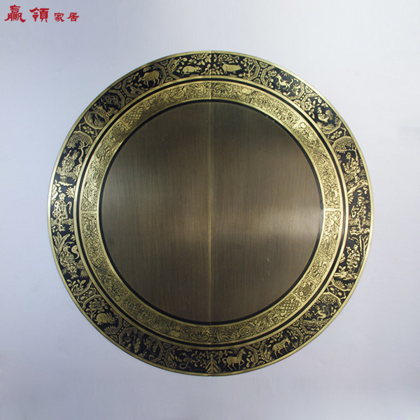 Win door leading Chinese antique copper copper decoration handle 44 / 52cm Ming copper live YLA3042<br><br>Aliexpress
