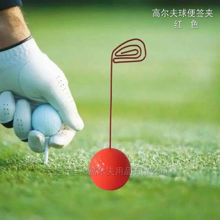 Golf gifts, memo clip, office stationery, gift, can be printed LOGO, factory direct sale(China (Mainland))