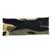 12 pcs/lot 2015 New Arrival Fashion Women Camo Sport headbands Girl camouflage Headwrap Yoga Headwear Free Shipping(China (Mainland))