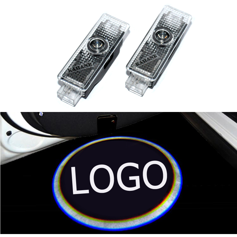 2x led car door welcome projector logo laser ghost shadow light for land rover range rover