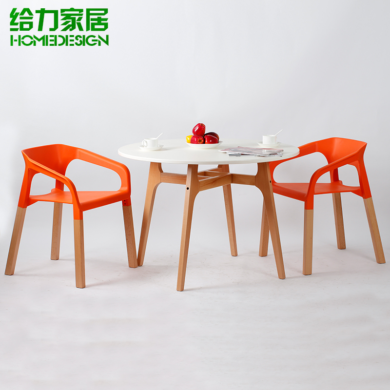 Combination Of Solid Wood Dining Tables And Chairs Ikea