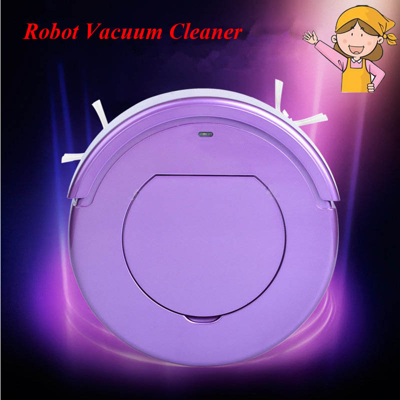1pc Household Cleaning Robot Ultra-Thin Intelligent Automatic Efficient Vacuum Cleaner KRV205(China (Mainland))
