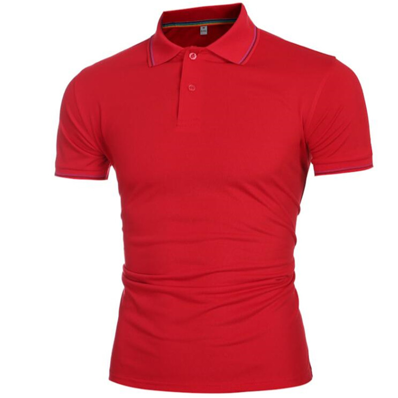 Plus size XXXL 2016 Brand New Men's Polo Shirt For Men Designl Polos Men Cotton Short Sleeve Shirt Sports Jerseys Golf Tennis(China (Mainland))
