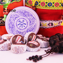 puer tea New Fashion Mini Bowl Semen Cassiae Ripe Tea Chinese Traditional Authentic puer 220g 50pieces/bag pu erh tea ETH395