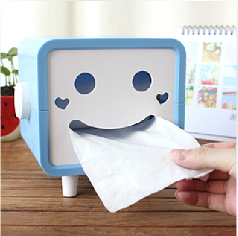 Cartoon home tissue box creative household supplies lazy tissue pumping personalized gadgets Home Depot(China (Mainland))