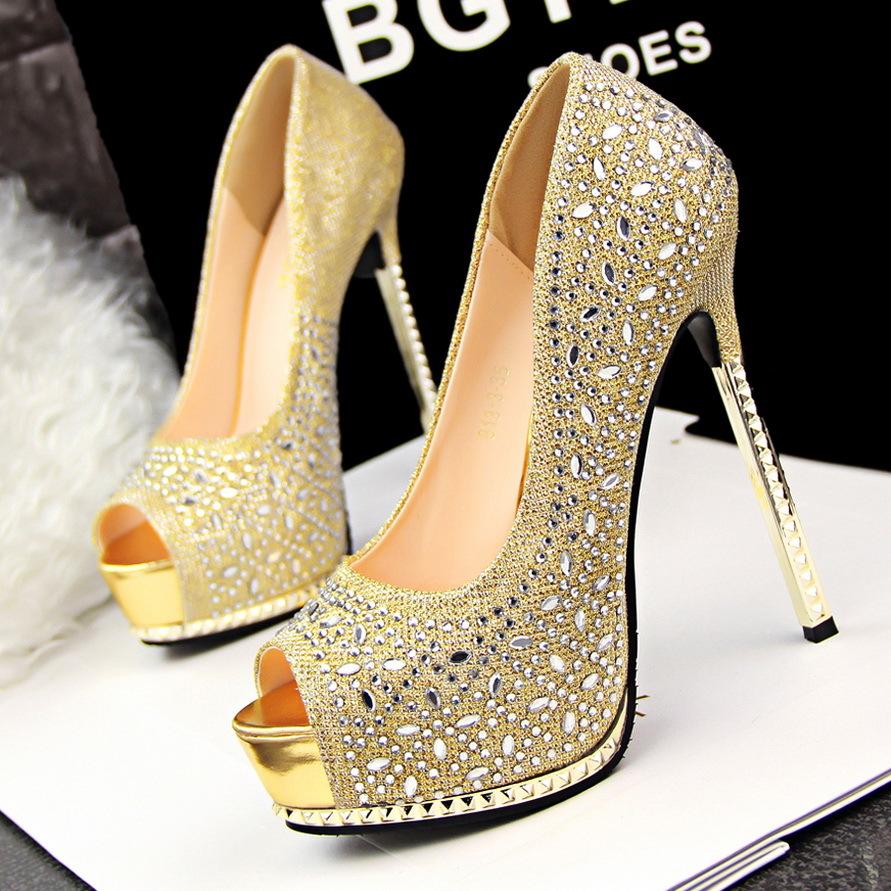 Cheap Gold High Heels For Women | Is Heel - Part 870