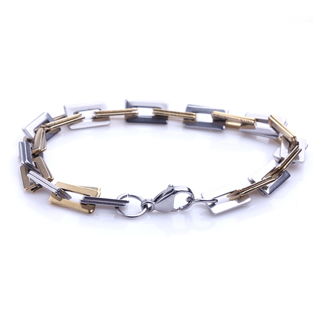 personalized style titanium steel bracelets stainless