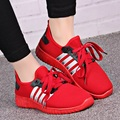 women s casual sport and outdoor shoes female cool red soft bottom shoes lady leisure high