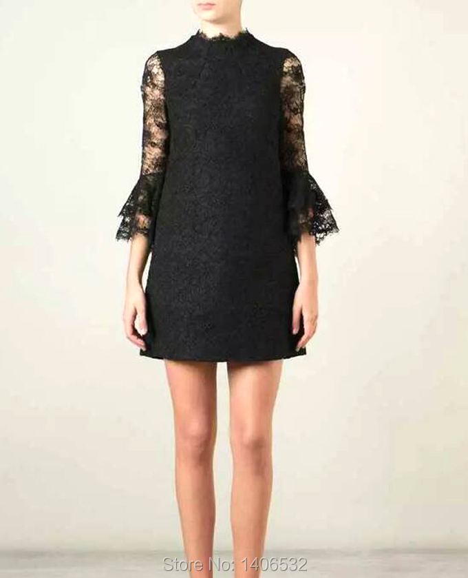Luxury Brand Lace Dress 2015 Runway Dress Autumn Dresses Free ShippingОдежда и ак�е��уары<br><br><br>Aliexpress