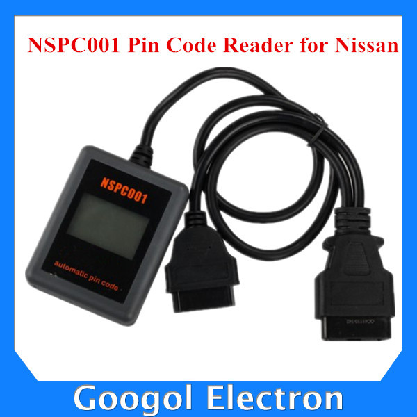 2015 New Arrival Hand-held NSPC001 For Nissan Automatic Pin Code Reader NSPC001 for Nissan PinCode Calculator Key Programmer(Hong Kong)