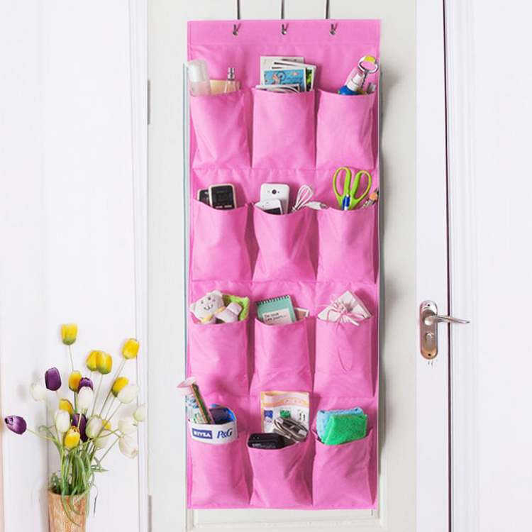 Hot Sale Washable 12 Pockets With 3 Hooks Over The Door