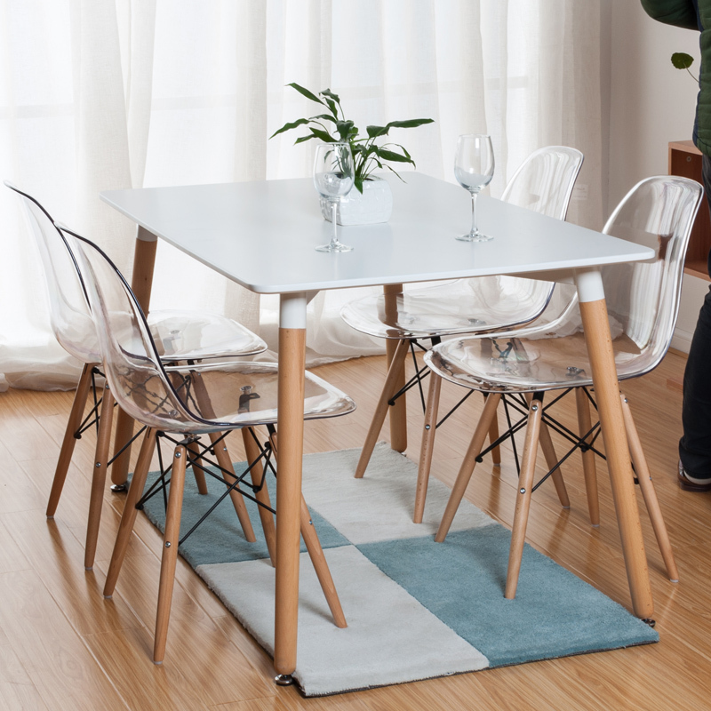 Buy The Oxford 150cm Solid Oak Dining Table With Charles Eames