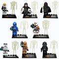 DLP9018 Building Block Super Heroes Star Wars Minifigures Storm Trooper Shadow Guard Tie Fighter Pilot Bricks