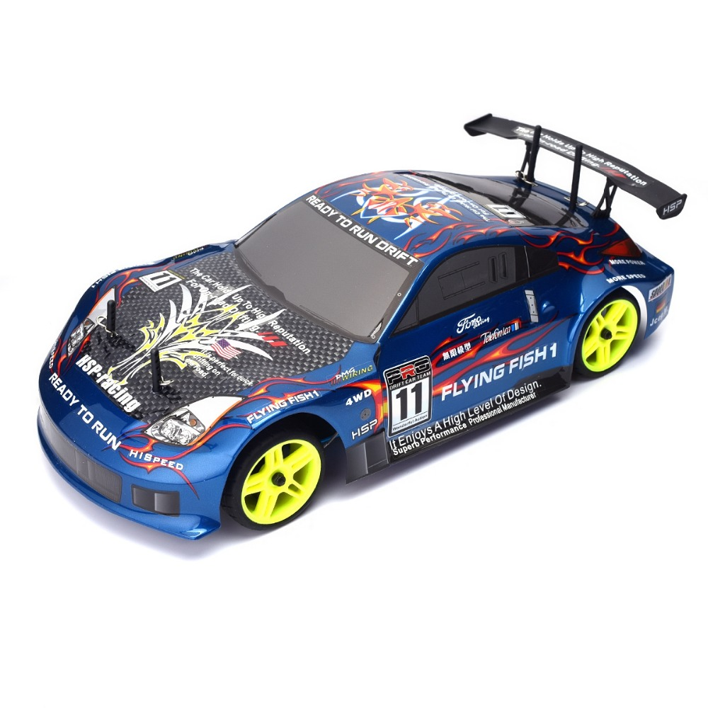 HSP Rc Car 4wd Nitro Gas Power Remote Control Car 1/10 Scale On Road Drift Racing 94122 Xstr High Speed Hobby Rc Drift Car(China (Mainland))