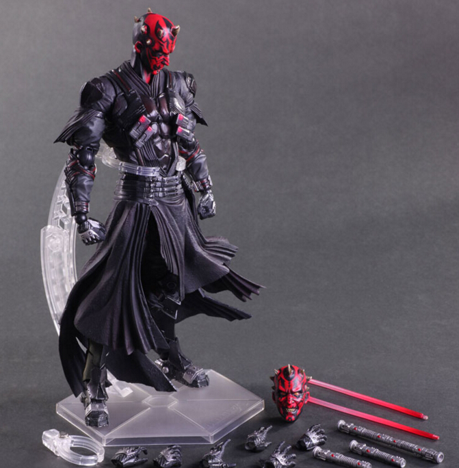 Star Wars Action Figure Toys Play Arts Kai Darth Maul Collection Model Anime Star Wars Darth Maul Playarts(China (Mainland))