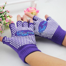New Cycling Fitness Sport Gloves GYM Weightlifting Exercise Training Half Fingers Woman Yoga Gloves Non-slip Professional Gloves