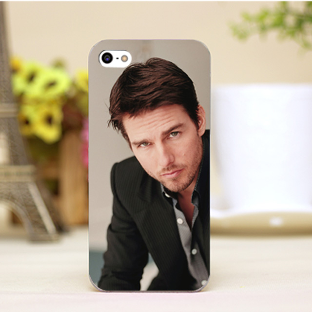 pz0006 1 6 3 Tom Cruise Design Customized font b cellphone b font cases For iphone