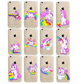 Snow White Tinker bell Mermaid Case For iPhone 6 6S 4.7″ Inch Transparent Plastic Back Cases Cover