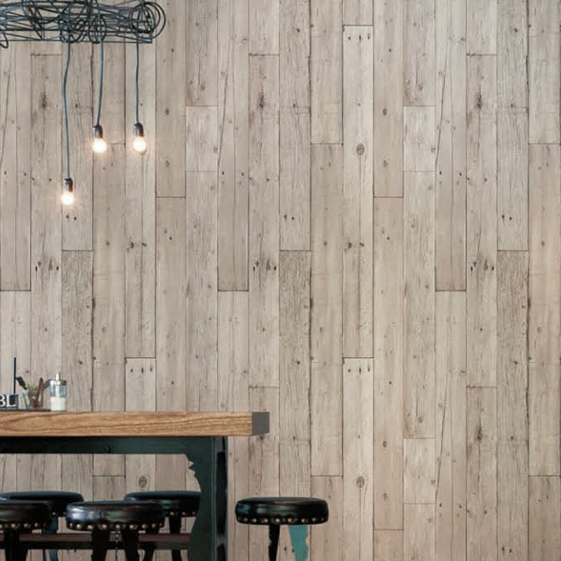 Fireproof Panels For Walls : Loft brief wood grain wall covering texture pattern