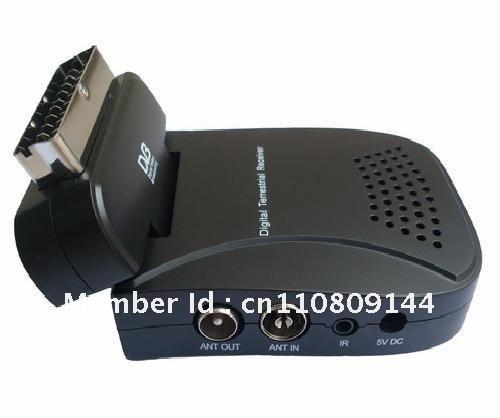 mini usb scart DVB-T Digital TV Receiver(China (Mainland))