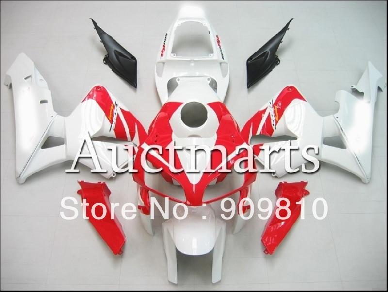 F5 cbr600rr fairing 2004 2003 cbr600 03 04 abs motocycle bodywork white red - RacingFairing store