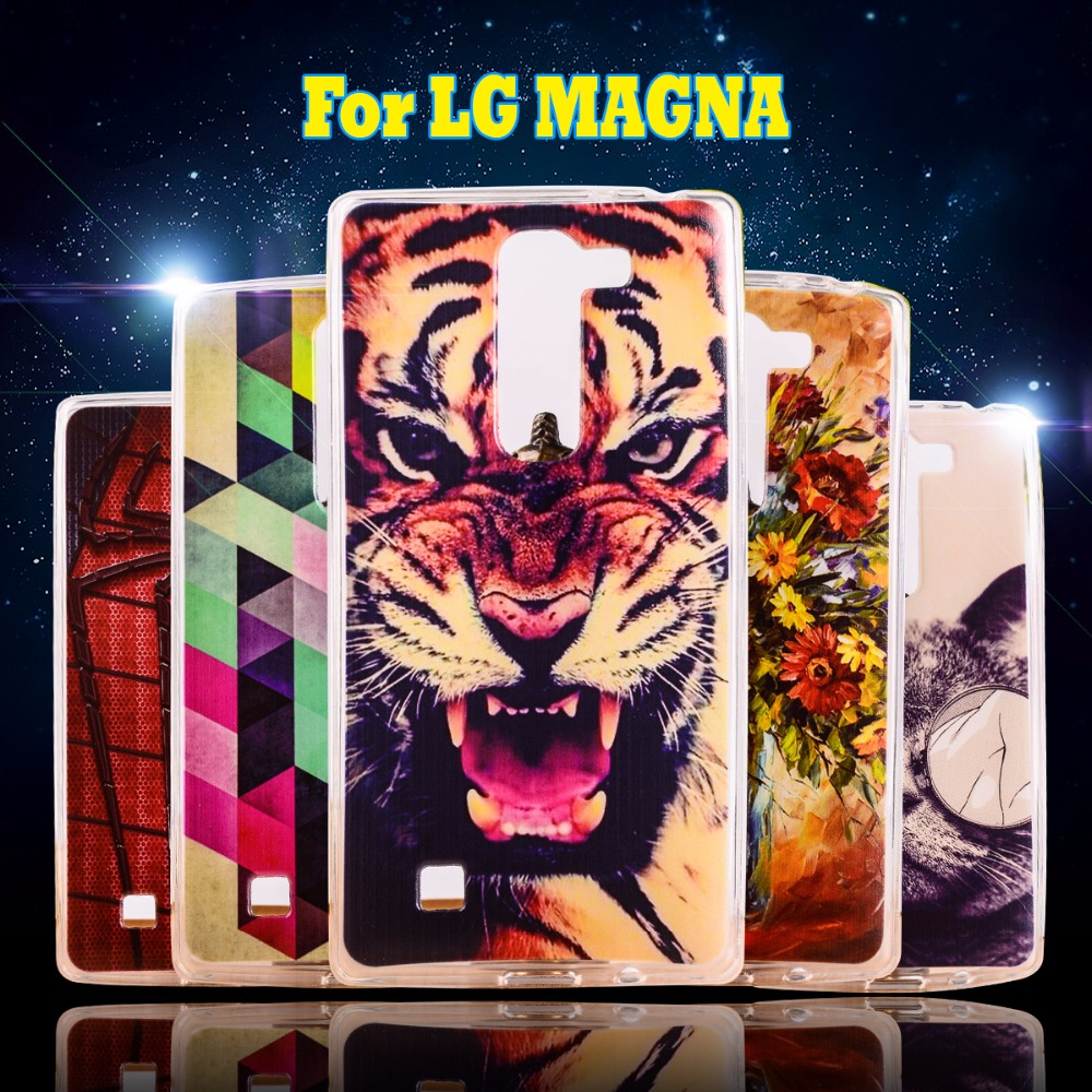 Cute Cartoon Matte Soft TPU Silicone Phone Case For LG Magna C90 G4 Mini H520N Cases Covers Phone Bags Durable Protective Shell(China (Mainland))