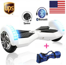 8 inch Two Wheel Scooter Self Balance Electric Scooters Bluetooth+ Led +Remote Smart Hover Board Electric Skateboard Hoverboard(China (Mainland))