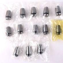 13pcs ER11 1-7mm Spring Collet Set For CNC Engraving Milling Lathe Tool #49489