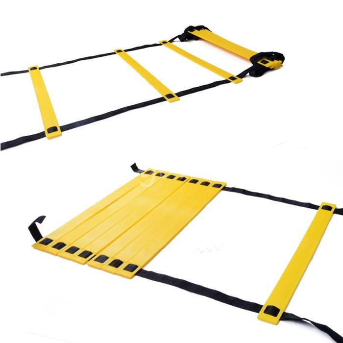 Best Price And Durable Flat 8-Rung 4M Agility Ladder for Speed Soccer Football Fitness Feet Training(China (Mainland))