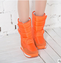 2016 de Invierno botas de Nieve de Las Mujeres 8 Color Cálido impermeable línea de Algodón de Arranque zapatos de invierno Cuña ZYMY-xz-29(China (Mainland))