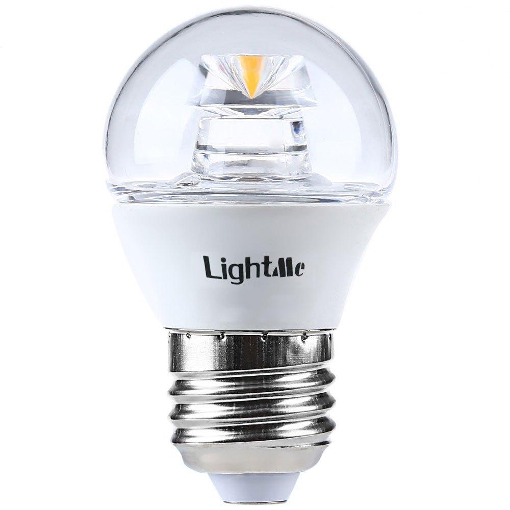 Lightme 4Pcs 5W 110-240V 420Lm E27 G45 3000K Bubble Ball LED Bulbs Commercial Environmental Friendly Home Led Lamp(China (Mainland))