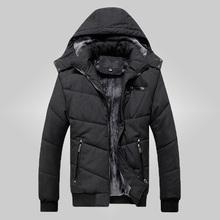 Free shipping 2015 new brand high quality men winter jacket fashion thickening Cotton jacket slim fit winter coat men L-3XL 90Wj