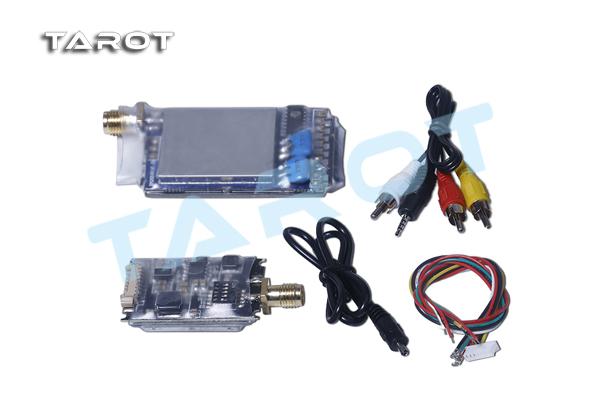 TAROT 5.8G 600mW FPV Wireless image transmission Video A/V Tx Rx set TL300N(China (Mainland))
