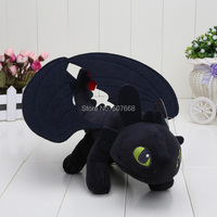 23cm HOW TO TRAIN YOUR DRAGON MINI PLUSH Toothless Night Fury Toy