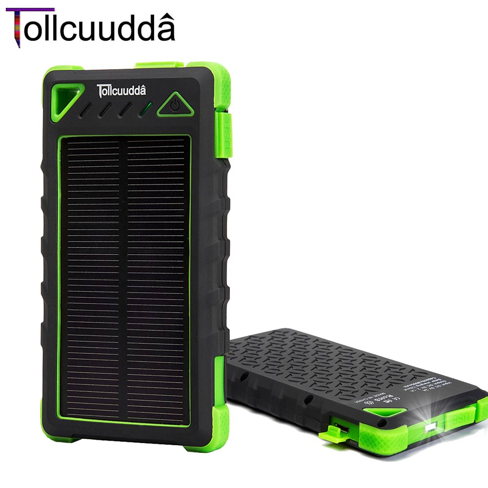 Tollcuud Portable Powerbank For Xiaomi Iphone Power Bank Battery Charger Poverbank Mobile Phone Rechargeable 10000mah 2 USB