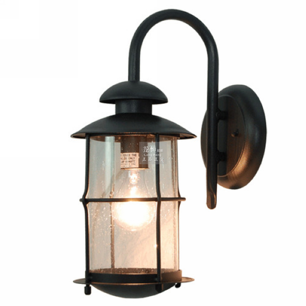 Free shipping waterproof outdoor wall light vintage for Vintage exterior light fixtures