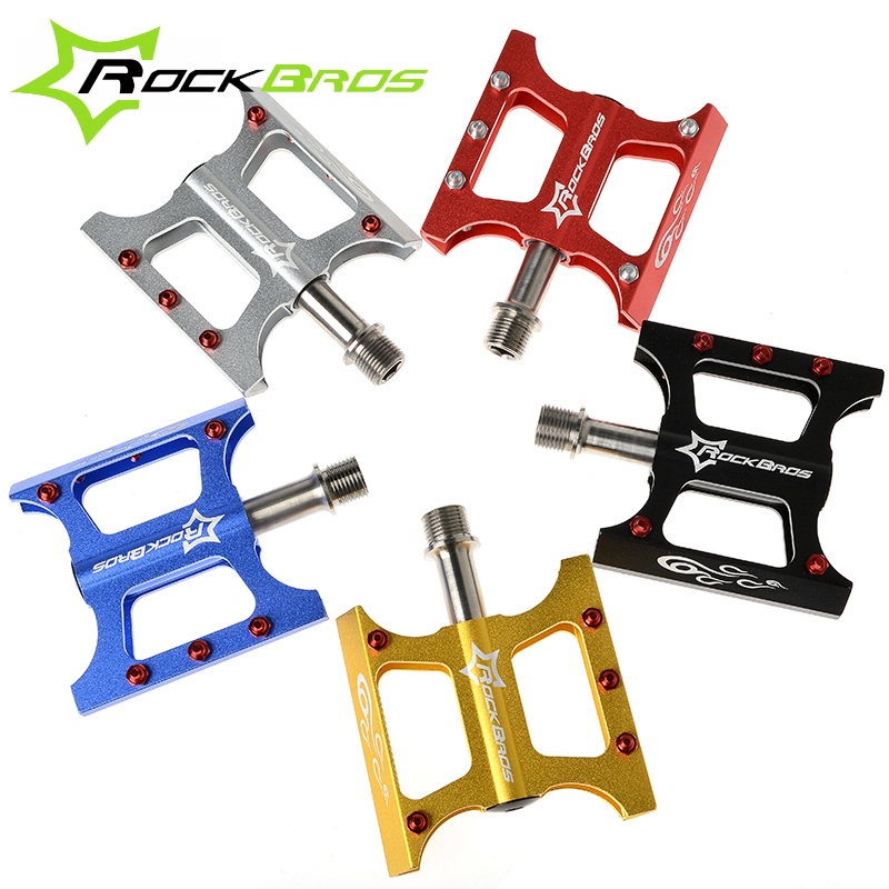 RockBros Bmx Bicycle Accessories Bicycle Pedal Downhill Folding Bike Parts Mountain Road Bike Cycle Pedals Mtb Bicycle Pedalen(China (Mainland))