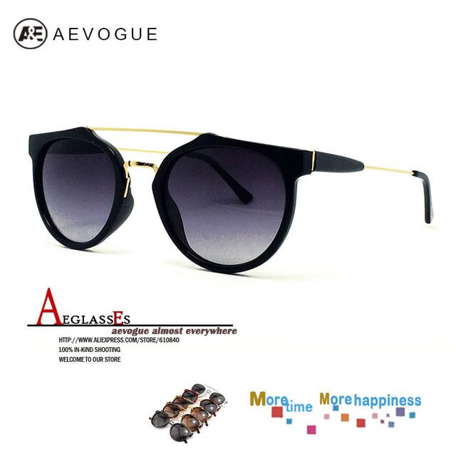 Aevogue горячая распродажа бренд солнцезащитных очков женщин стильная и современная солнцезащитные очки с чехол gafas / óculos de sol UV400 AE0077