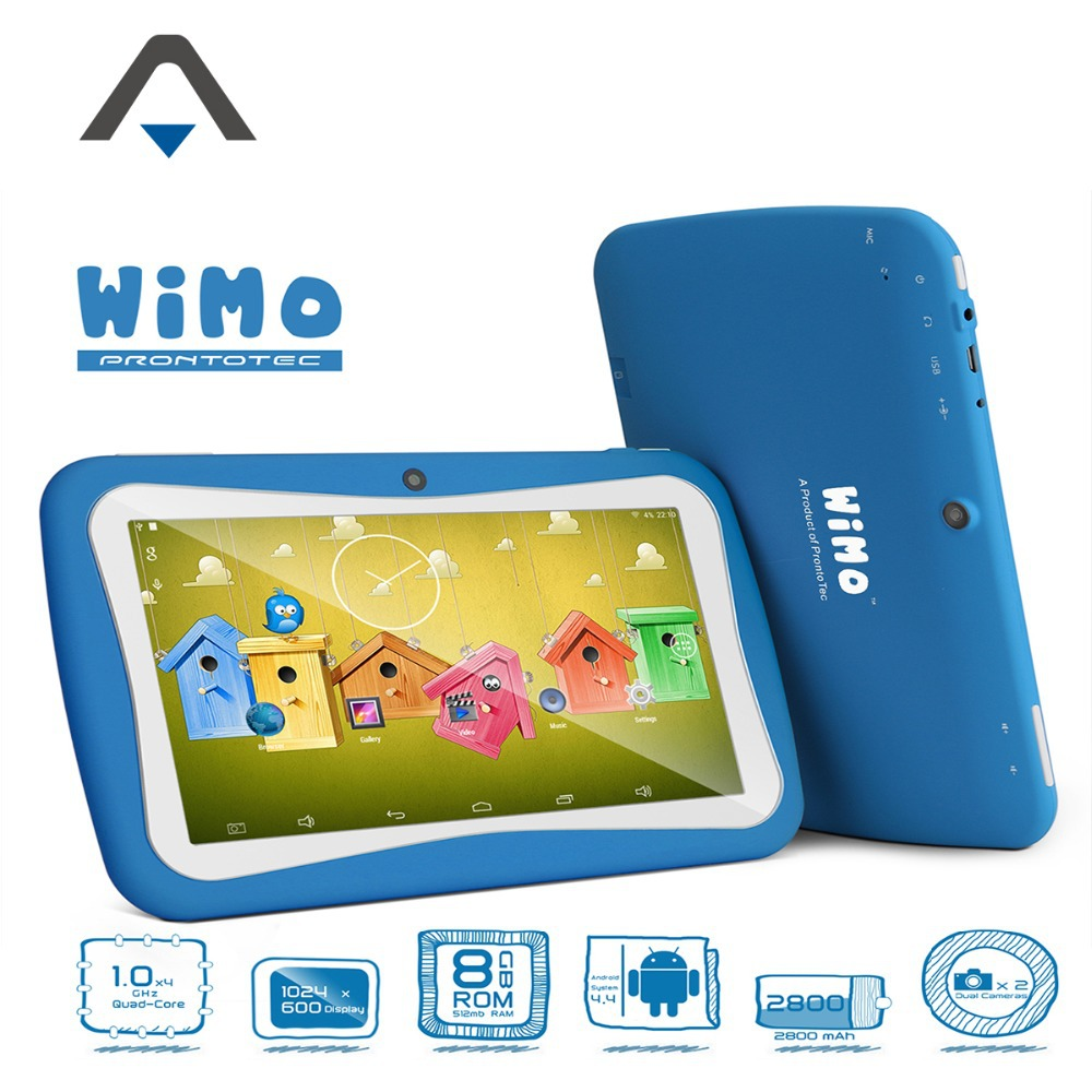 ProntoTec new 7 inch WiMo C72R Kids Tablet PC Android 4 4 KitKat OS Quad Core